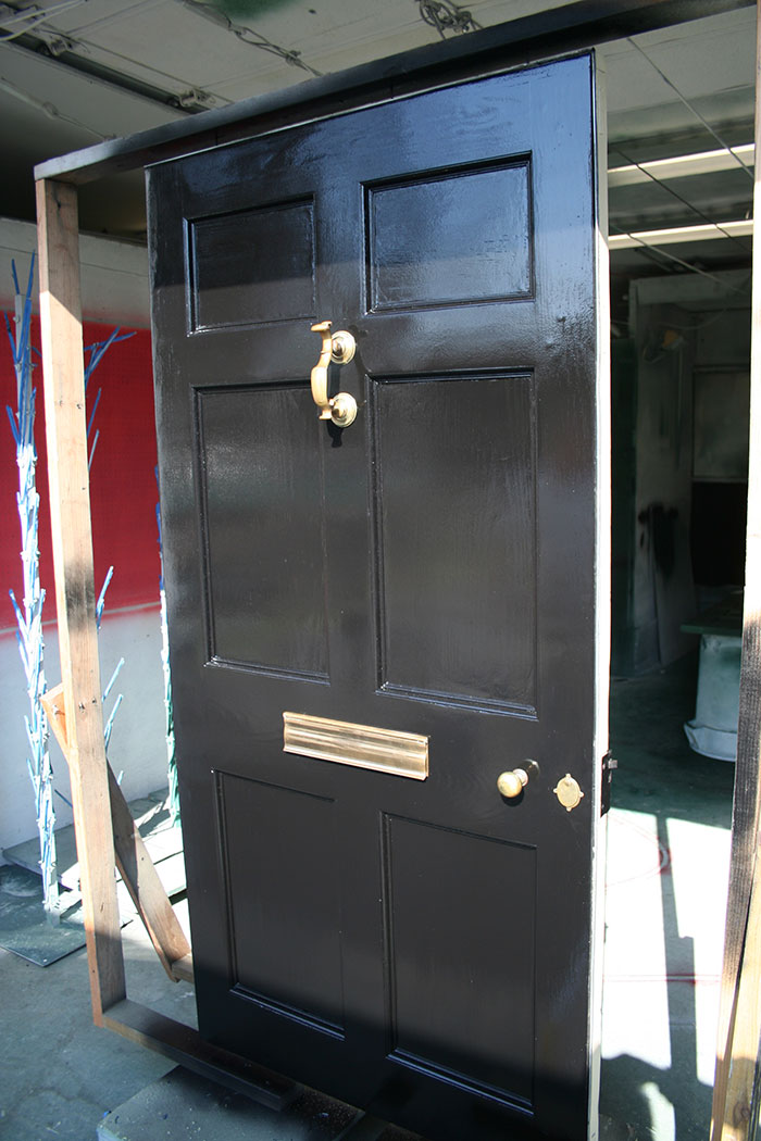 Custom spray shop services in ct fitzgerald painting - Interior door spray painting service ...